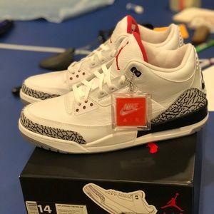 e58fb5edaf6e93 Jordan Shoes - ❗️SOLD❗️Size 14  88 white cement retro 3